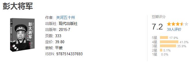 《彭大将军》by 关河五十州