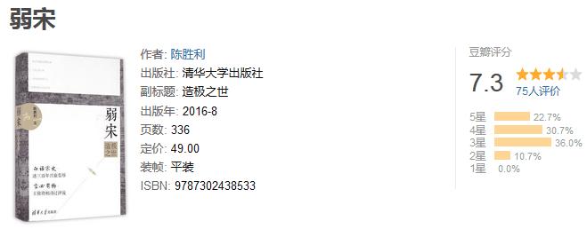 《弱宋:造极之世》by 陈胜利