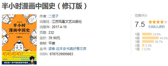 《半小时漫画中国史》by 二混子