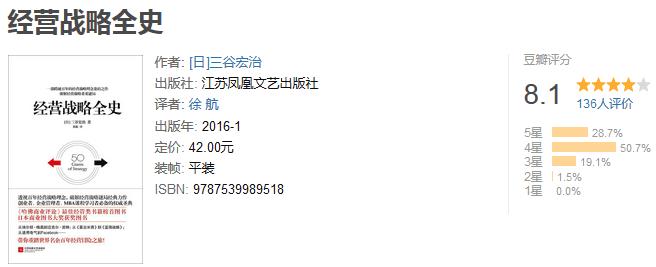 《经营战略全史》by 三谷宏治