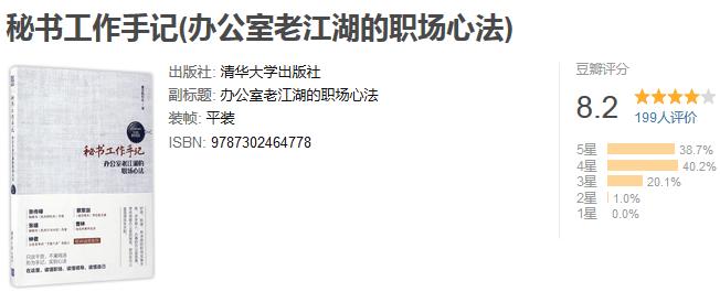 《秘书工作手记:办公室老江湖的职场心法》by 像玉的石头