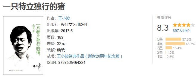 《王小波作品大全集》(15 册)by 王小波