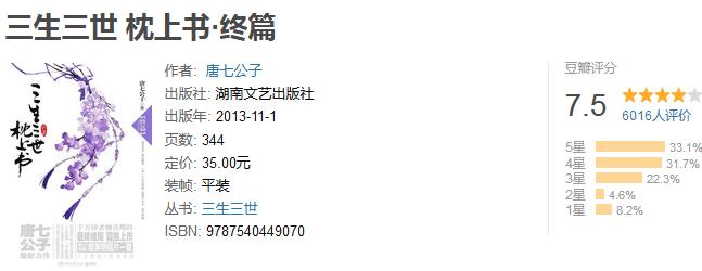 《三生三世枕上书·终篇》by 唐七公子