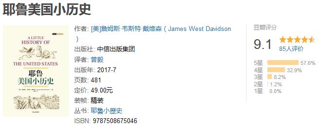 《耶鲁小历史系列》(全三册)by 詹姆斯・韦斯特・戴维森