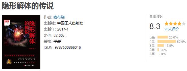 《隐形解体的传说》by 暗布烧