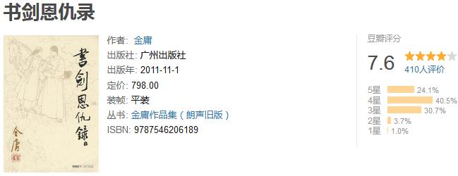 《金庸作品全集》(新修版全 36 册)by 金庸
