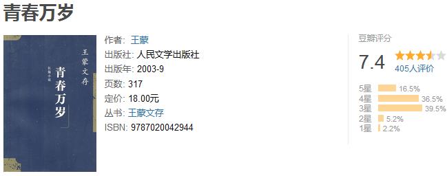 《王蒙作品精选集》(套装 16 本)by 王蒙