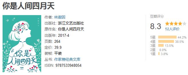 《你是人间四月天》by 林徽因