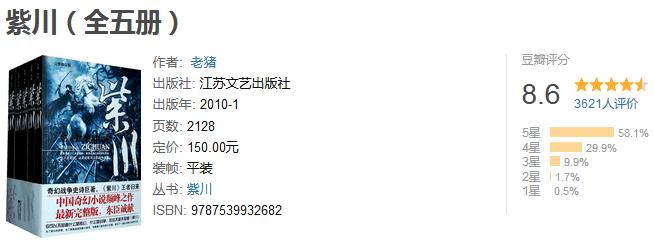 《紫川》(全五册)by 老猪