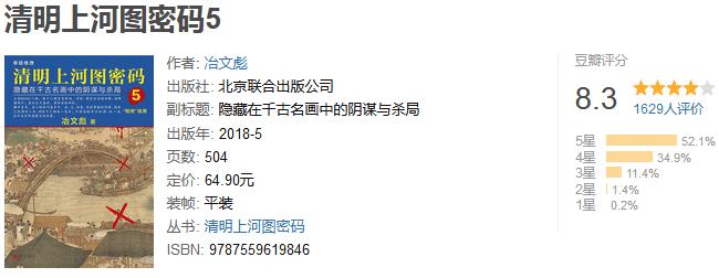 《清明上河图密码 5》by 冶文彪