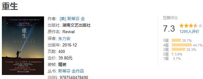 《全球悬疑大师典藏合集》(全 19 册)by 斯蒂芬・金等