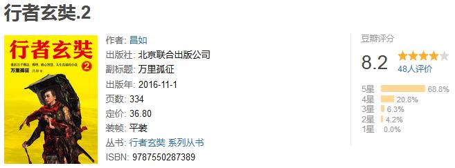 《行者玄奘 2:万里孤征》by 昌如