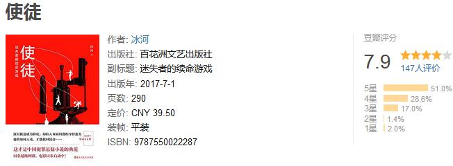 《使徒:迷失者的续命游戏》by 冰河
