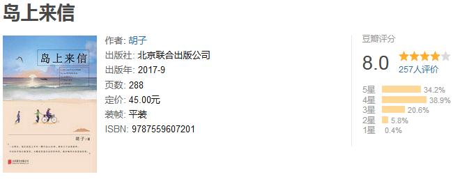《岛上来信》by 胡子