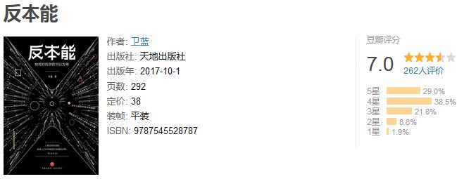 《反本能》by 卫蓝