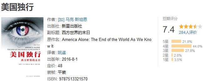 《美国独行:西方世界的末日》by 马克・斯坦恩