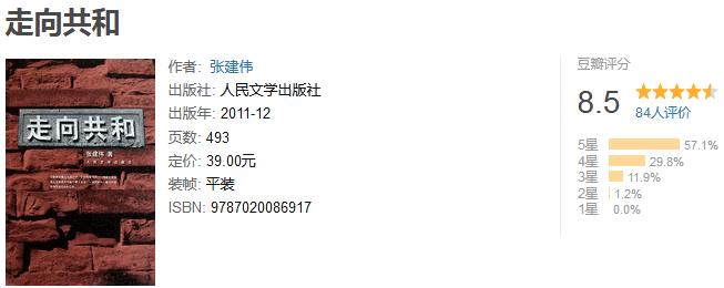 《走向共和》by 张建伟