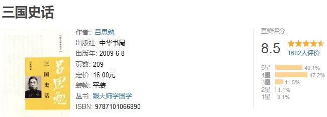 《吕思勉文集:三国史话》by 吕思勉