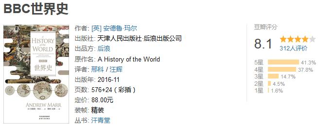 《BBC 世界史》by 安德鲁・玛尔