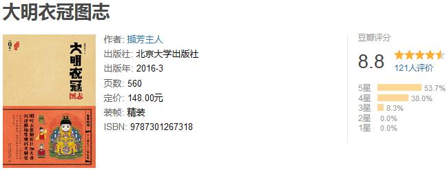 《Q 版大明衣冠图志》by 撷芳主人