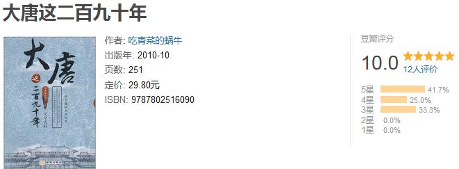 《大唐这二百九十年 2:天皇天后》by 吃青菜的蜗牛