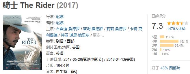 《骑士》The Rider (2017) 720P/1080P 百度网盘迅雷下载