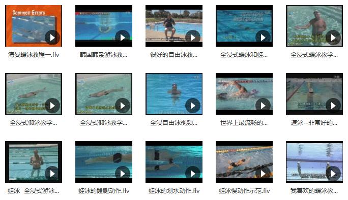 《最新游泳教程大全》百度网盘下载